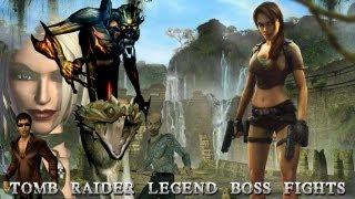 getlinkyoutube.com-Tomb Raider Legend Bosses