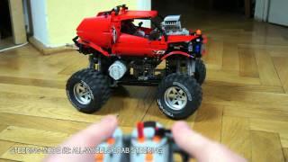 getlinkyoutube.com-Lego Motorized Monster Truck