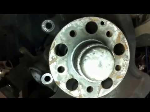 Ржавая ступица колеса - деформирует тормозной диск