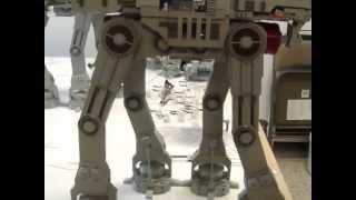 getlinkyoutube.com-HUGE Star Wars Lego Hoth Battle