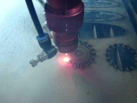 Maquina Laser Átomo CNC Corte y Grabado