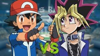 getlinkyoutube.com-Ash Ketchum vs Yugi Muto. Épicas Batallas de Rap del Frikismo T2 | Keyblade