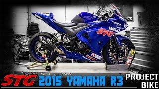 getlinkyoutube.com-2015 Yamaha YZF-R3 First 500 Review