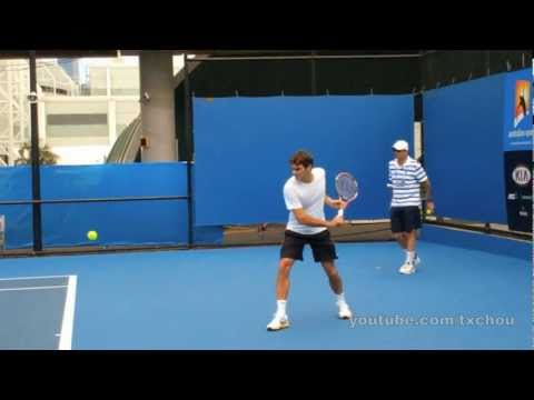 Roger Federer - Slow Motion Backhands in High Definition