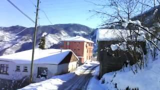 Pervane Köyünden Kış Manzaraları