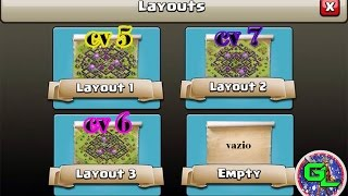 getlinkyoutube.com-Melhores Layouts de Farm 2015-CV 5, CV 6 e CV 7/️️Clash Of Clans
