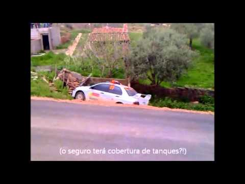 WRC Rally de Portugal - Acidente carro 00