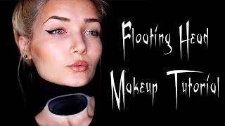 getlinkyoutube.com-Hovering Head Halloween Makeup Tutorial || Last Minute
