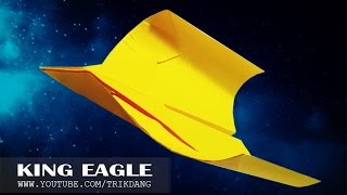 getlinkyoutube.com-Best Paper Planes: How to make a paper airplane that Flies BACK | King Eagle
