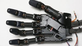 How to make a robot arm and fingers