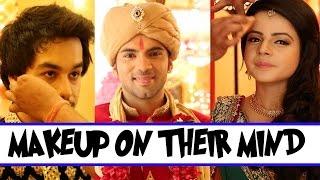 getlinkyoutube.com-'Makeup' on the mind of team Thapki...Pyaar Ki