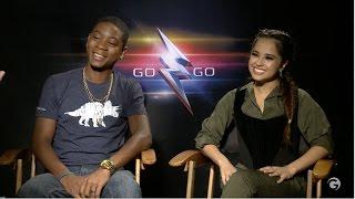 Becky G and RJ Cyler Talk Pranking Power Rangers Cast