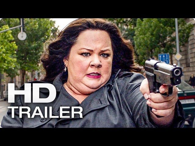 SPY Trailer German Deutsch (2015)