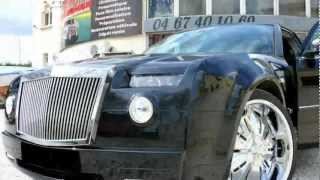 getlinkyoutube.com-Chrysler 300C body kit custom Rolls Royce Phantom - By CWC