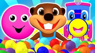 "getlinkyoutube.com-""Baby Pop"" Learn Colors, Shapes, ABCs Alphabet & Nursery Rhymes 
