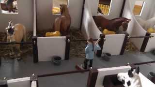 getlinkyoutube.com-Amselhof - unser selbstgebauter Schleich-Pferdestall // Homemade Schleich Horse Stable