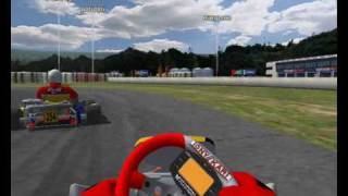 Rfactor Kart Racer Mod Online Race 11 Players