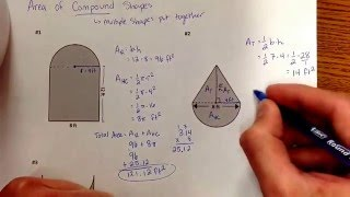 Area of Compound Shapes