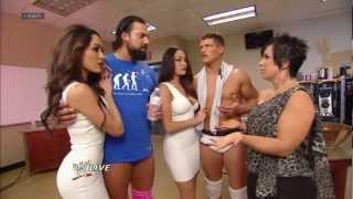 getlinkyoutube.com-The Bella Twins make a surprise return to WWE: Raw, March 11, 2013