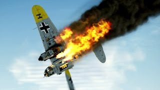 getlinkyoutube.com-IL-2 Sturmovik Battle Of Stalingrad Crashes Compilation #5 1440p
