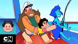 Solos en el Mar | Aventuras en Ciudad Playa | Steven Universe | Cartoon Network