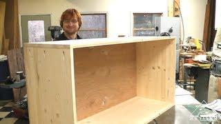 getlinkyoutube.com-New Easy to Make Cabinet Video up on ArtisanConstruction