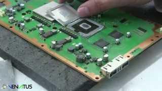 getlinkyoutube.com-PlayStation CPU IHS Removal Arabic - كيفية إزالة مبرد معالج السرعة للبليستيشن 3