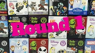 getlinkyoutube.com-Huge Funko Unboxing Round 1 Disney Frozen Marvel MLP DC Universe Hello Kitty