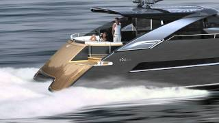 getlinkyoutube.com-Power Catamaran Concept eCat hybrid by Juri Karinen