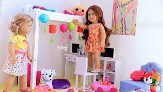 getlinkyoutube.com-American Girl Dollhouse Room