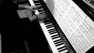 When I was your man jazz piano score