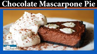 getlinkyoutube.com-How to make a Chocolate Mascarpone Pie