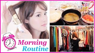 getlinkyoutube.com-Get Ready with Me: Morning Routine! (Skincare, Healthy Breakfast, Makeup, Hair, & Fashion)