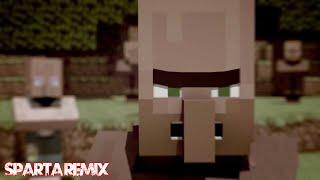 getlinkyoutube.com-(Sparta Duel) {Villager News} This Is Minecraft! [Sparta L.A.S.  Mix V2]