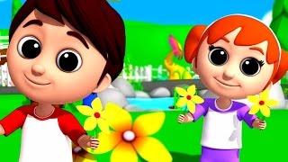 Luke & Lily - Ringa Ringa Roses   Nursery Rhymes   Song For Children   Kids Videos