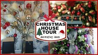 getlinkyoutube.com-CHRISTMAS HOUSE TOUR /DECORATING IDEAS | DECK THE HALLS #6