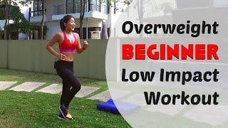 getlinkyoutube.com-Overweight Beginner Low Impact Home Workout (Burn 200Cals under 20mins) | Joanna Soh
