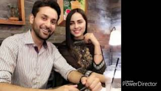 NIMRA KHAN WITH AFFAN WAHEED- pics
