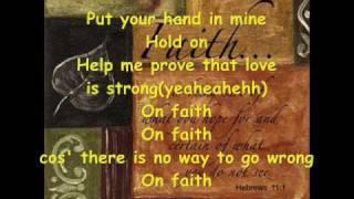 On Faith - Nathalie Makoma with Lyrics