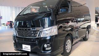 getlinkyoutube.com-Nissan NV350 Caravan Black Line Premium GX
