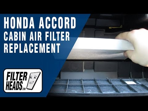 How to Replace Cabin Air Filter 2016 Honda Accord