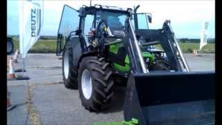 Driving Day at Bigwood Agriculture Ltd - the FZ20 Loader - Lynx Engineering