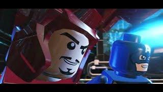 getlinkyoutube.com-LEGO: Marvel Superheroes - Chapter 5: Rebooted, Resuited (Captain America, Iron Man)