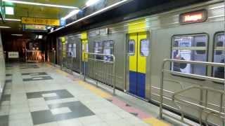 getlinkyoutube.com-盆唐線351000系1次車 亭子駅発車 Korail 351000 series EMU