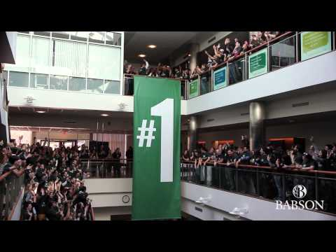 Number 1 in Entrepreneurship for 20 Years | Babson MB | Babson College
