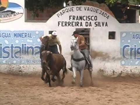 Disputa da Vaquejada do Parque Francisco Ferreira Apodi 2014