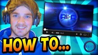 getlinkyoutube.com-Ali-A - How I make my YouTube videos! =)
