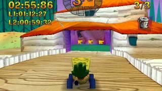 getlinkyoutube.com-Nicktoons Racing (2000) Gameplay