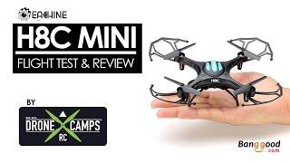 getlinkyoutube.com-Banggood H8C Mini Quad - Review & Flight Test