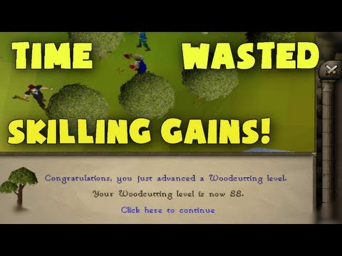 Runescape 2007: Time Wasted: Skiller and a Killer!